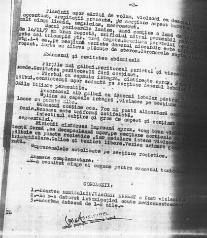 Raport medico-legal despre moartea lui Ujvarossy - pag. 2