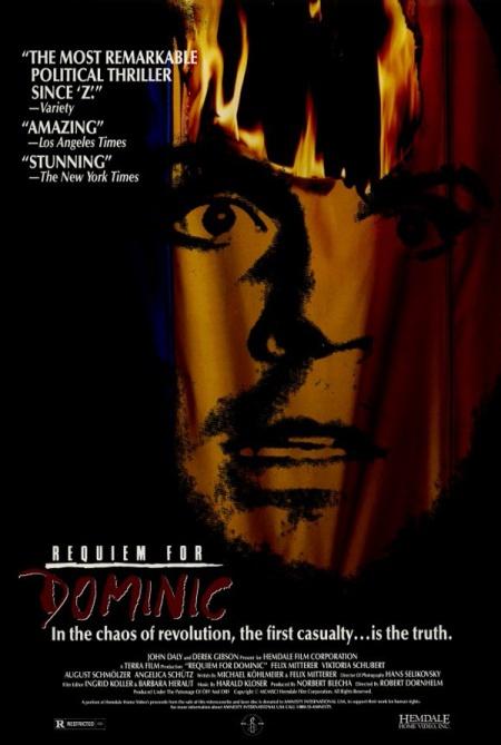"""Afiș al filmului """"Recviem pentru Dominic"""" de Robert Dornhelm"""