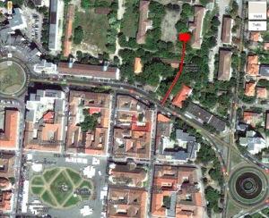Localizarea sediului asociaţiei Memorialul Revoluţiei din Timişoara