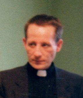 Istvan Geczi, cetăţean al Ungariei care în 1989 i-a adus lui Laszlo Tokes 20000 lei din partea susţinătorilor săi. Foto din 1990